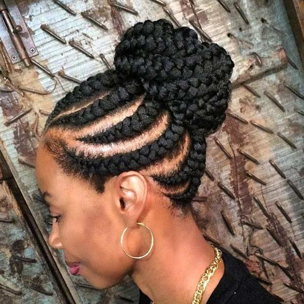 8 Beautiful Straight Up Braids Hairstyles You Should Try ...