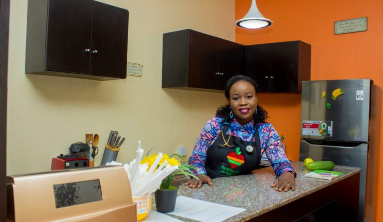 Tolulope Sowande, The Founder Of Healthy Bar, A Company That Incorporates A Healthy Food Outlet And A Lifestyle Clinic