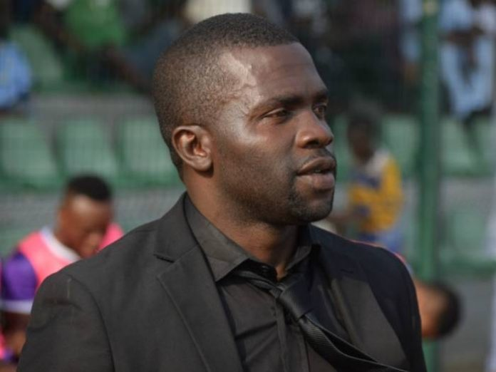 Fidelis Ilechukwu The Chief Coach Of Mfm Football Club Of Lagos Is Lamenting The Clubs Inability To Register Some Of Its Key Players For The 2018 Caf