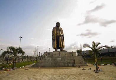 In Pictures: Lagos unveils new statue of late Gani Fawehinmi
