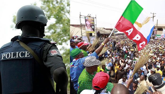 We're Avoiding 'Bloodbath', Says Police As They Stop APC Congress In