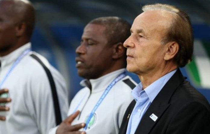 Gernot Rohr urged to fortify Super Eagles' midfield, defence