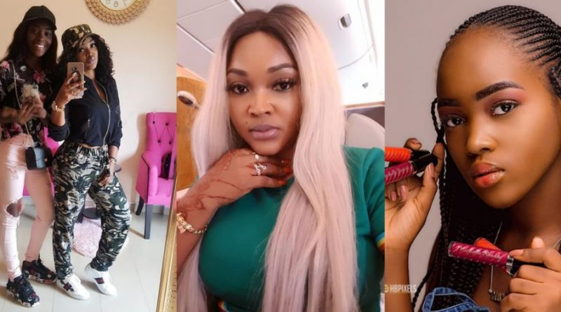Mercy Aigbe launches a beauty line, names it after her first child Michelle Gentry