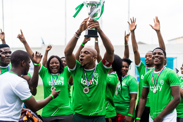 Photos: Taxify Hosts Celebrity Football Match in Celebration of Russia 2018