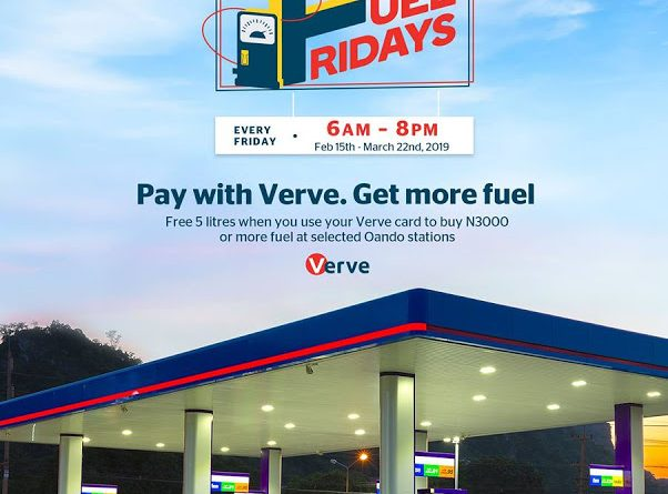 VERVE Free Fuel Fridays Ends March 22nd 2019!!! Enjoy Extra 5 Litres of Fuel!!!