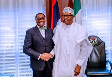 President Buhari commends African Development Bank's transformative role