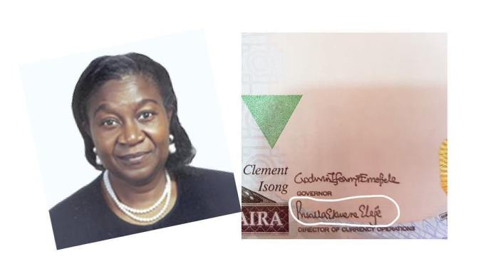 Priscilla Eleje Makes History as the First Woman to Sign the Nigerian Naira