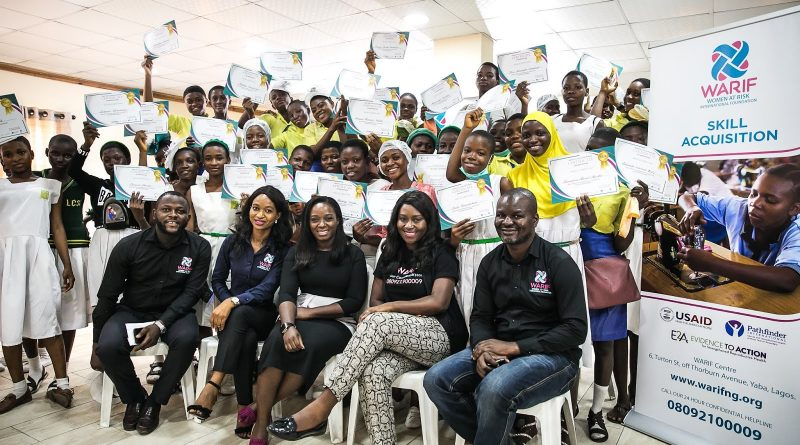 WARIF Organises Vocational Skills Training For Secondary School Students