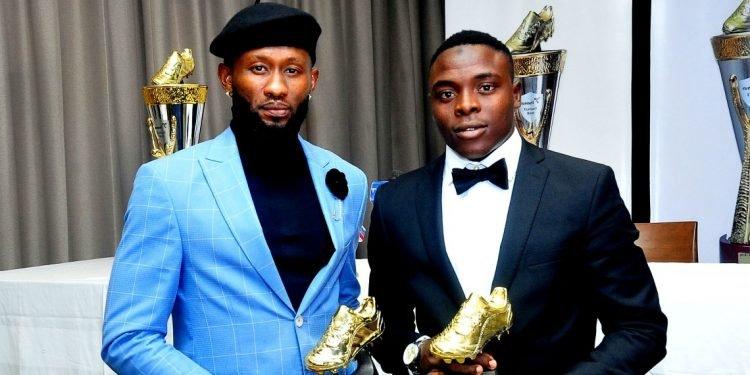 Udoh & Sanusi win Eunisell N4m Golden Boot award