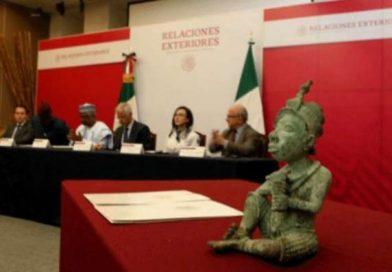 Mexico returns ancient Nigerian sculpture