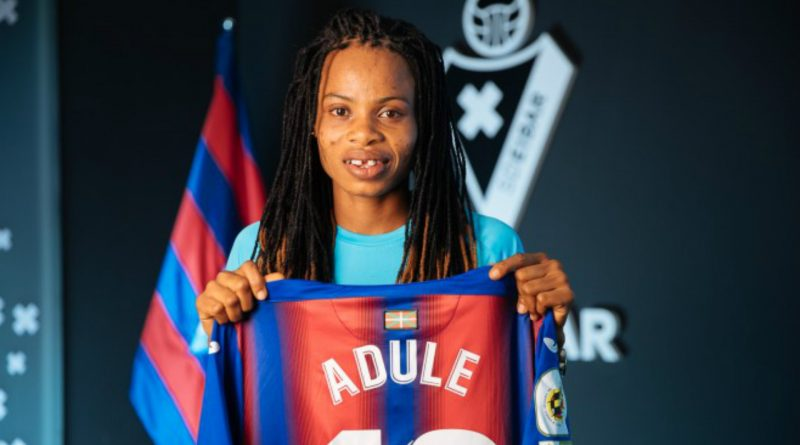 Falcons striker Adule Charity signs new two year deal with Eibar